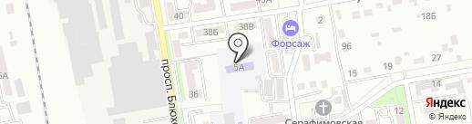 Гимназия №133 на карте Уссурийска