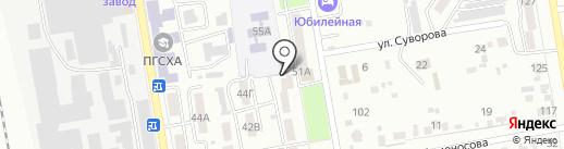Отдел департамента труда и социального развития по Уссурийскому городскому округу на карте Уссурийска