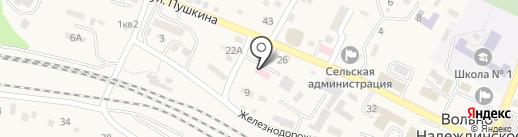 Центр гигиены и эпидемиологии в Приморском крае по Надеждинскому району на карте Вольно-Надеждинского