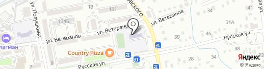 Основная общеобразовательная школа №27 на карте Уссурийска