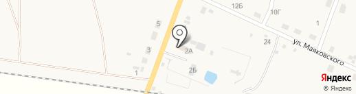 Магазин автохозтоваров на карте Михайловки