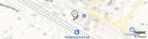 Удача на карте Вольно-Надеждинского