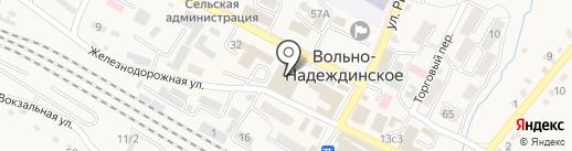 Монблан на карте Вольно-Надеждинского