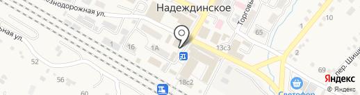 Отделение почтовой связи на карте Вольно-Надеждинского