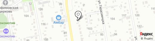 Движение на карте Уссурийска