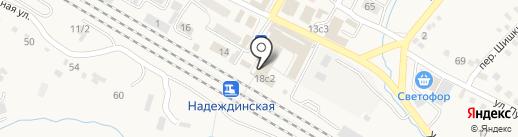 Абсолют на карте Вольно-Надеждинского