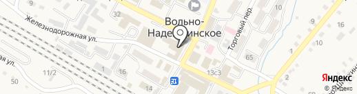 Профстрой на карте Вольно-Надеждинского