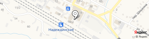Наши двери на карте Вольно-Надеждинского