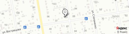 Отделение почтовой связи №1 на карте Уссурийска