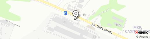 Граст на карте Уссурийска