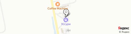 УССУРИ на карте Уссурийска