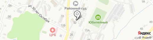 Отдел участковых уполномоченных полиции и по делам несовершеннолетних на карте Вольно-Надеждинского