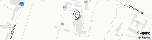 Стройдеталь на карте Уссурийска