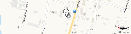 Гайка на карте Михайловки