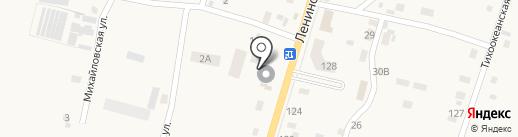 Архат на карте Михайловки