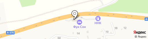 ФукСон на карте Нового