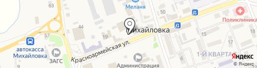Нефертити на карте Михайловки