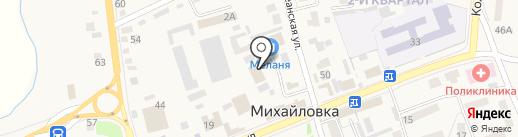 ЮрЭл на карте Михайловки