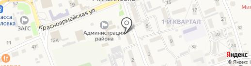 Центр ДВ на карте Михайловки