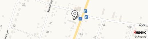 Бурёнка на карте Михайловки