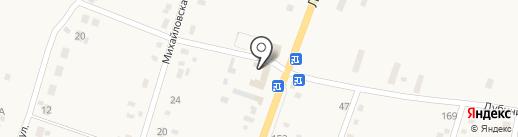 Магазин электрики и сантехники на карте Михайловки