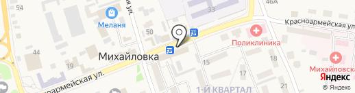 Платежный терминал, АКБ Приморье, ПАО на карте Михайловки