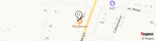 Азимут на карте Михайловки