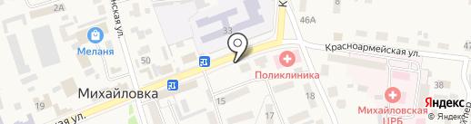 Куры гриль на карте Михайловки