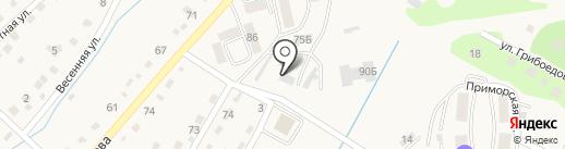 Дальтехсервис-Находка на карте Вольно-Надеждинского