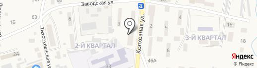 Русалочка на карте Михайловки