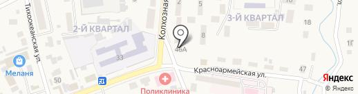 Автостоянка на карте Михайловки