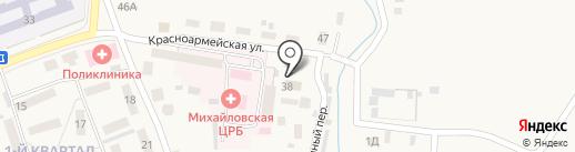 Отдел судебных приставов Михайловского района на карте Михайловки