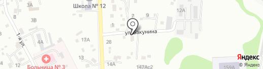 Ника-Авто на карте Владивостока