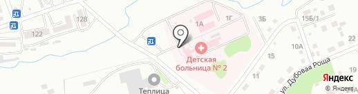 Детская больница на карте Уссурийска