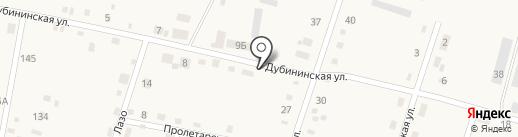 Перекрёсток на карте Михайловки