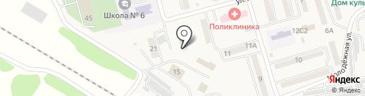 Надеждинская станция по борьбе с болезнями животных на карте Нового