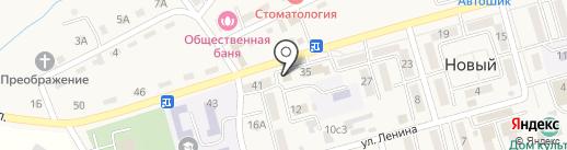 Хозяйственное организационно-территориальное управление Надеждинского сельского поселения, МБУ на карте Нового
