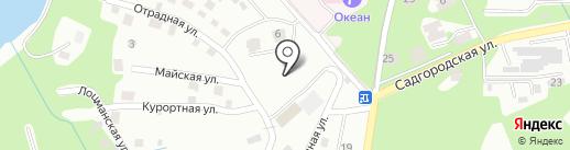 Галс на карте Владивостока