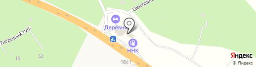Автомойка на карте Вольно-Надеждинского