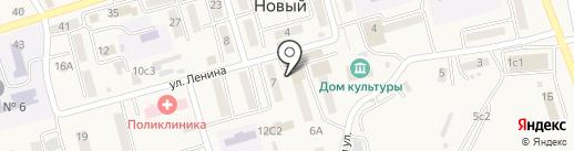 Бриз на карте Нового