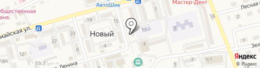 Платежный терминал, АКБ Приморье, ПАО на карте Нового