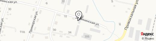 Луч на карте Михайловки