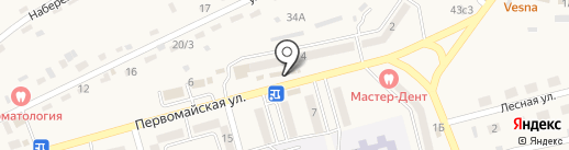 Продуктовый магазин на карте Нового