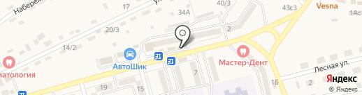 ЮКА ЗАЙ на карте Нового