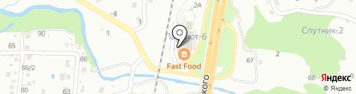 Дальпряна на карте Владивостока