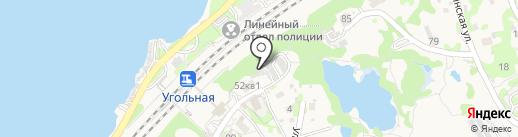 Ярко на карте Трудового