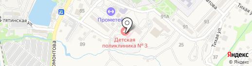 Станция скорой медицинской помощи г. Владивостока, КГБУ на карте Трудового