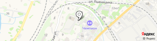 ДВ-Перевозчик на карте Трудового