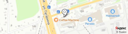 Новострой на карте Артёма