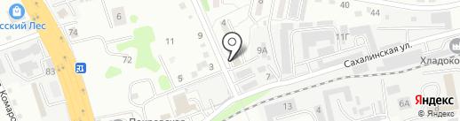 Колбасы на карте Артёма